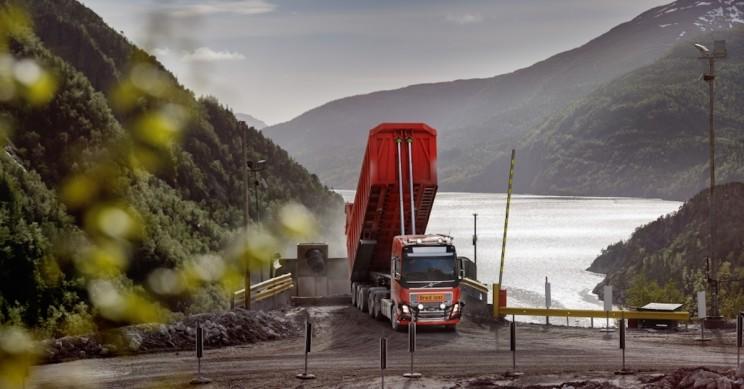 Volvo Provide Autonomous Transport Solution for Norwegian Limestone Mine