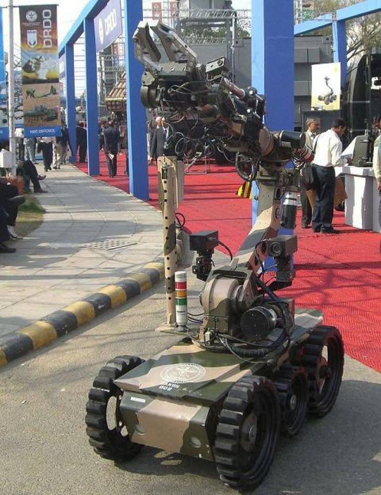 autonomous military vehicles DRDO