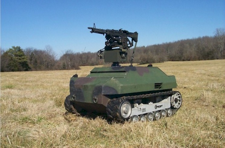 autonomous military vehicles Gladiator