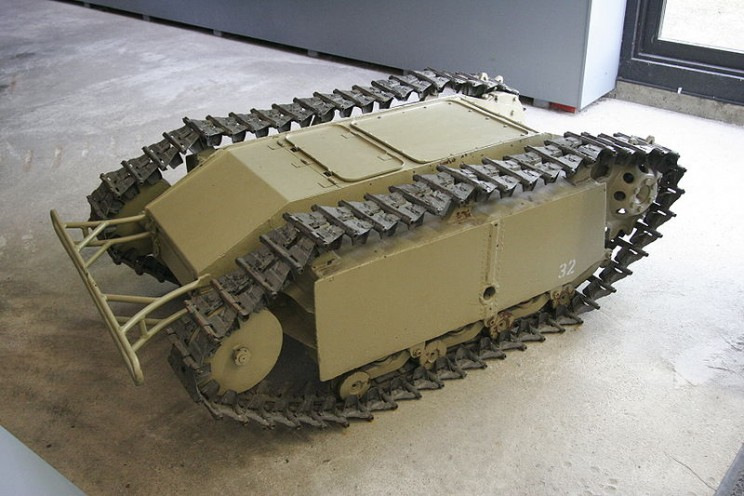 Autonomous military vehicles Goliath