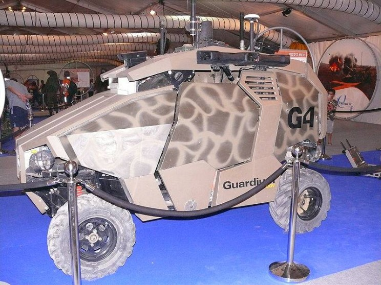 autonomous military vehicles Guardium