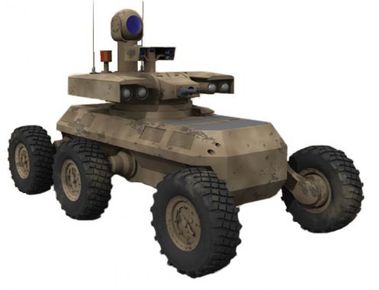 autonomous military vehicles MULE