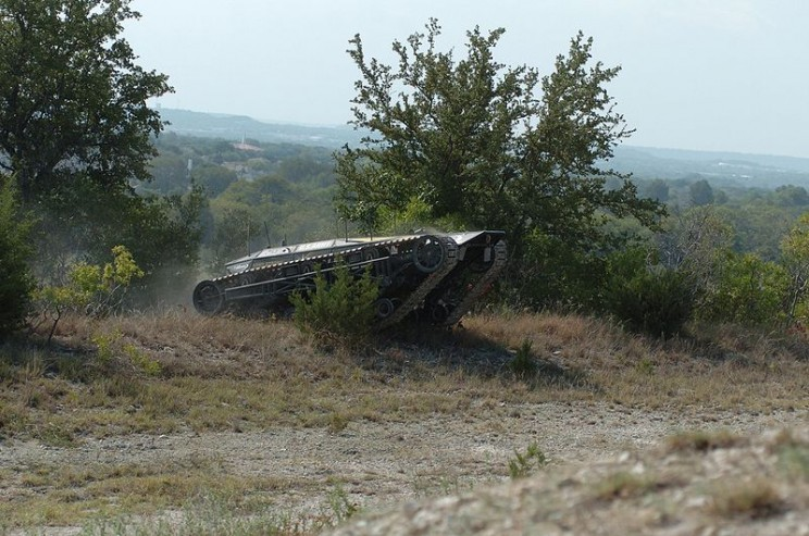autonomous military vehicles Ripsaw