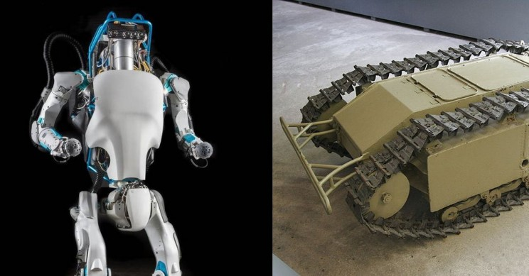 A Brief History of Military Robots Including Autonomous Systems