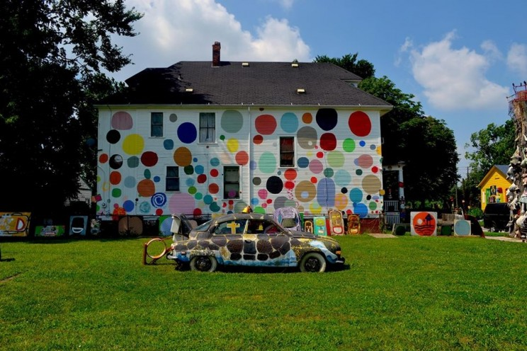 A house becomes art and back again