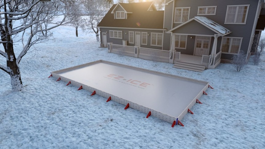 This Company Lets You Build an Ice Rink in Your Backyard ...