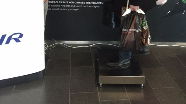 Finnair Is Now Weighing Passengers Before They Board