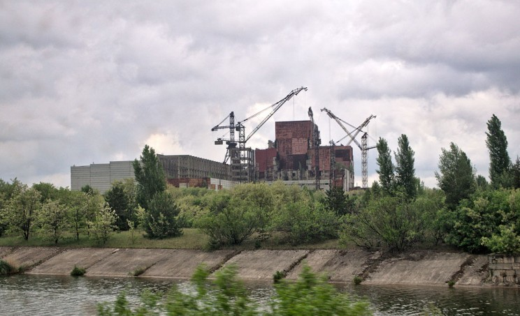 Reactors 5 and 6 of Chernobyl Nuclear Power Plant