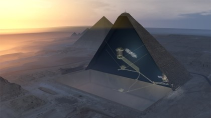 Researchers Discover Secret Chamber in Great Pyramid of Egypt
