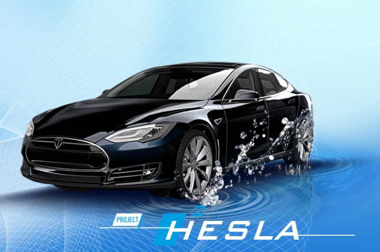 Dutch Gas Company Hacks a Tesla Model S to Run It on Hydrogen