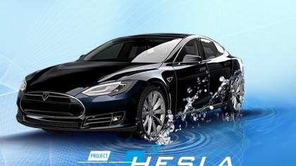 Dutch Gas Company Hacks a Tesla Model S to Run It on Hydrogen