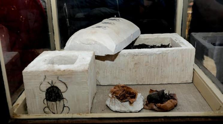 scarab mummy egypt