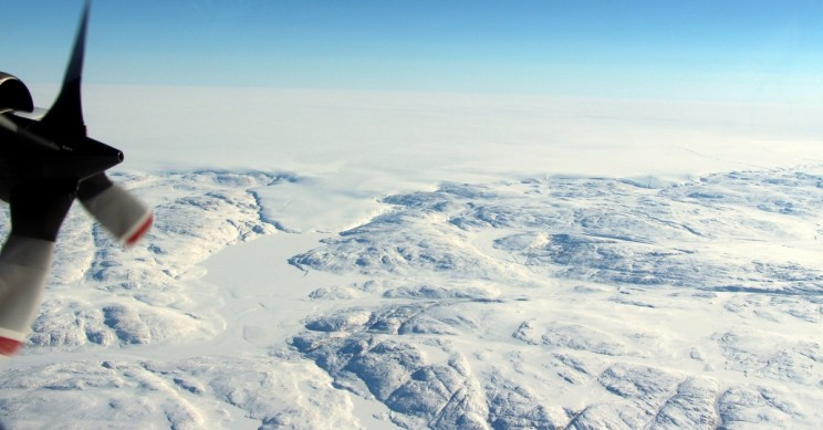 NASA, International Researchers Discover Massive Crater Under Greenland Ice