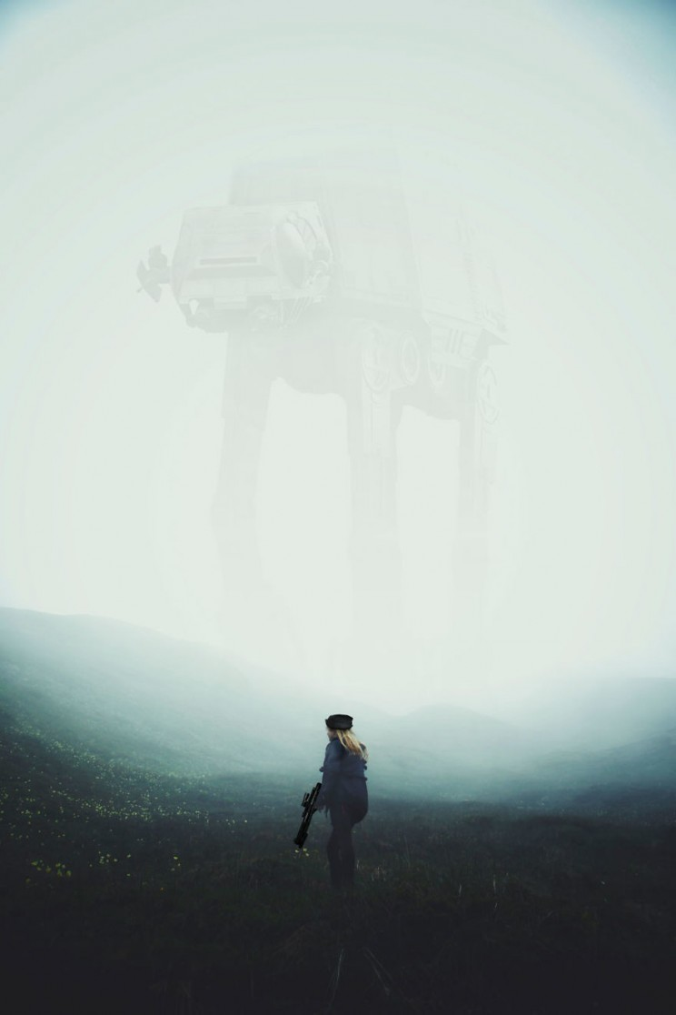 This Photographer Sets His Work in the Star Wars Universe
