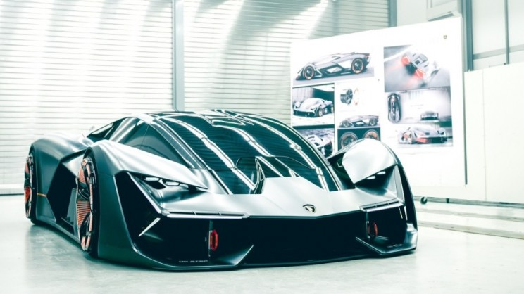"Lamborghini Team up with MIT to Develop a ""Self-Healing"" Electric Supercar"
