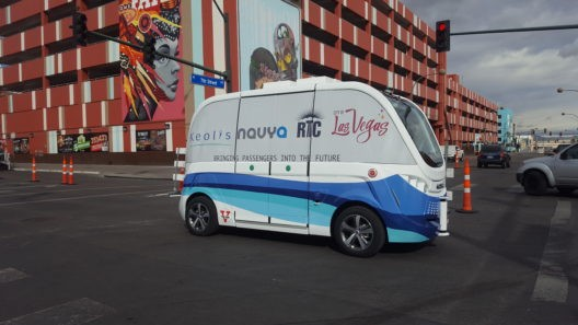 A Truck Slammed into a Driverless Shuttle During its First Hour on the Road