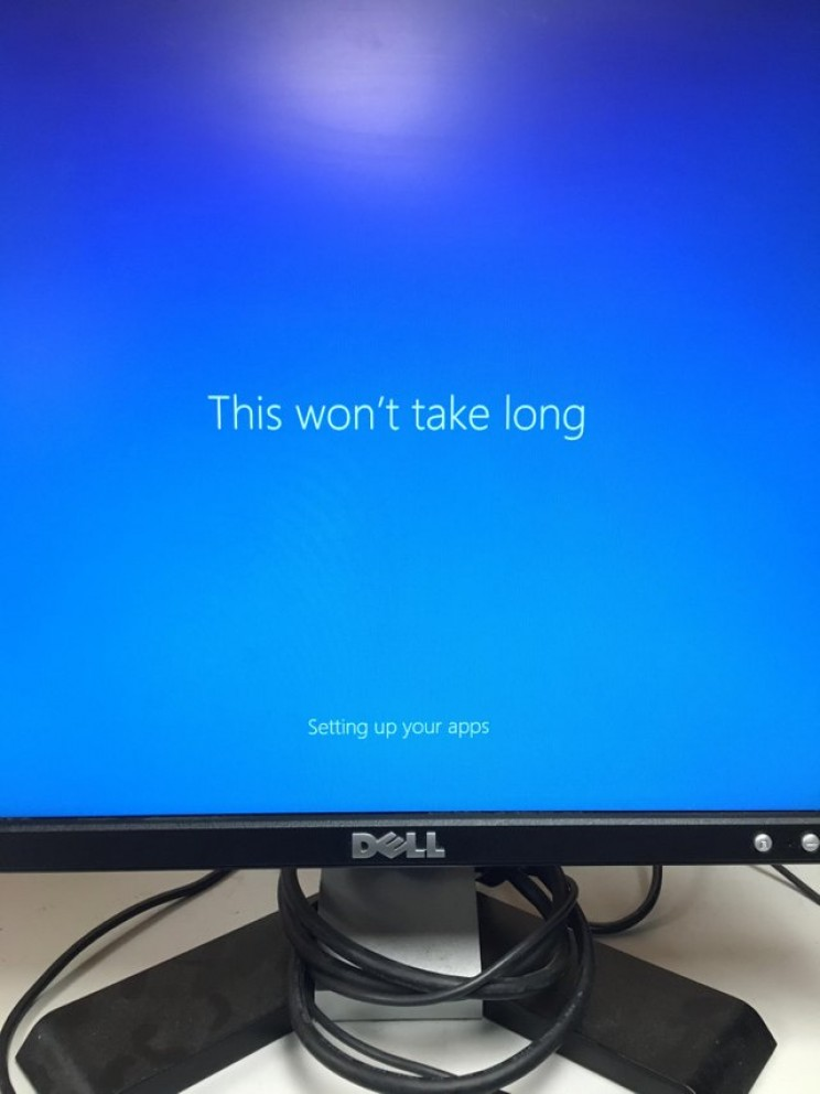 When Windows tell you to calm down.