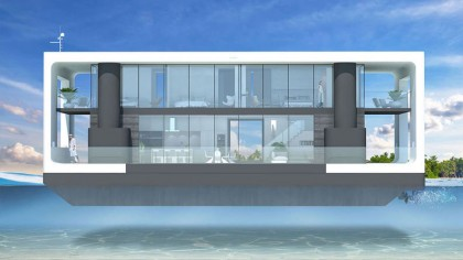 These $2 Million Hurricane-Proof Floating Homes Will Go on Sale Next Year