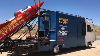This Man Will Launch Himself in a Homemade Rocket in an Effort to Prove the Earth Is Flat