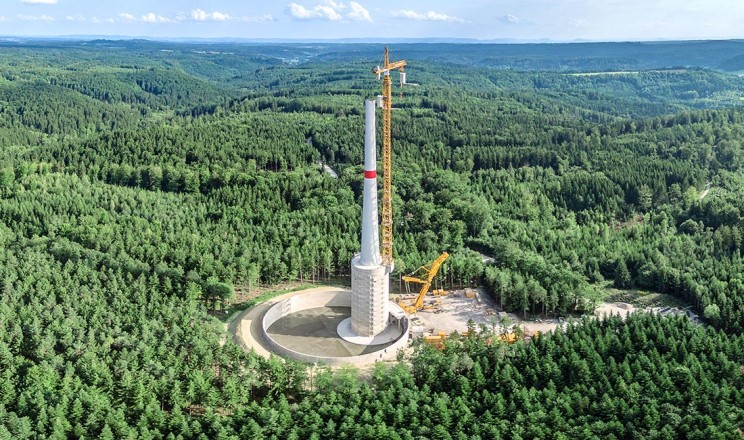 The World's Tallest Wind Turbine Now Resides In Germany