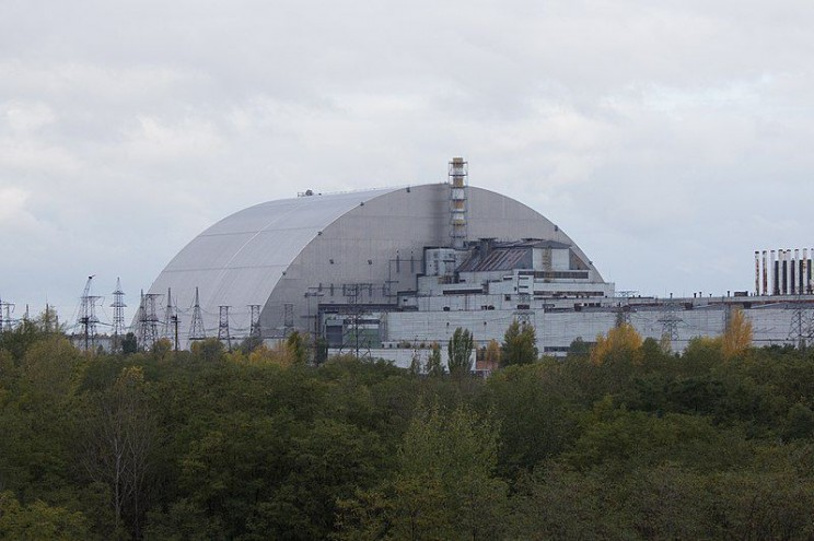 most radioactive places Chernobyl