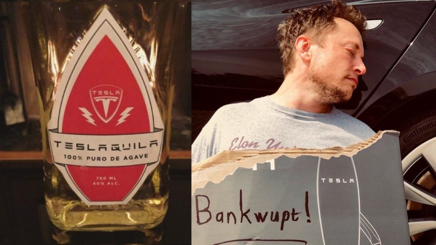Elon Musk Will Fight Back Tequila Industry to Win 'Teslaquila' Name