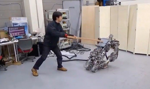 This Robot Is Designed to Fall Rather Than Walk