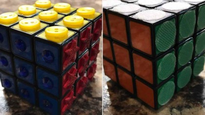 Rubik's Cube Just Got a Tactile Makeover, So Blind People Could Play With It