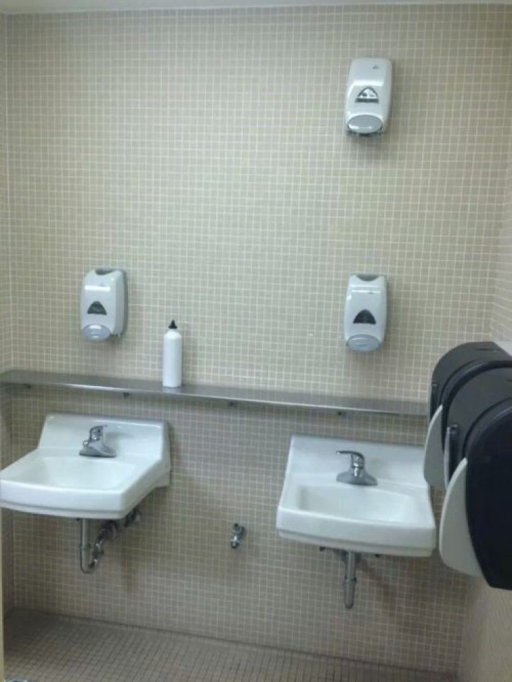 Soap Dispenser Placement Fail