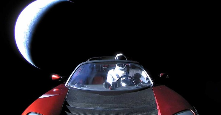 Elon Musk's Starman and His Roadster Are Now Far Beyond Mars