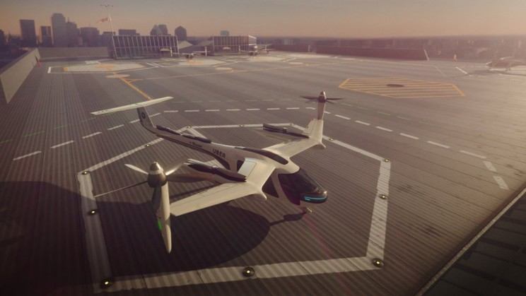 Uber Partnering with NASA to Make Flying Taxis Real by 2020