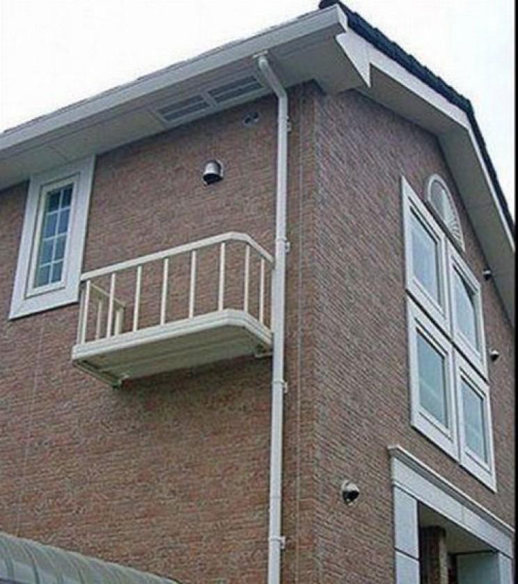 Unaccessible Balcony