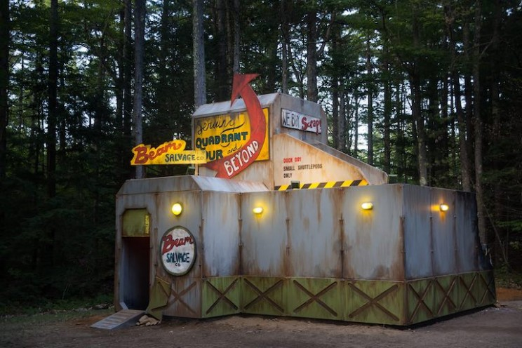 This Summer Camp Engineered its Own 'Abandoned Space Station' in the Woods