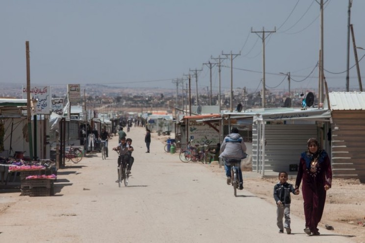 World's First Solar-Powered Refugee Camp Provides Energy for Almost 80,000 Refugees in Jordan