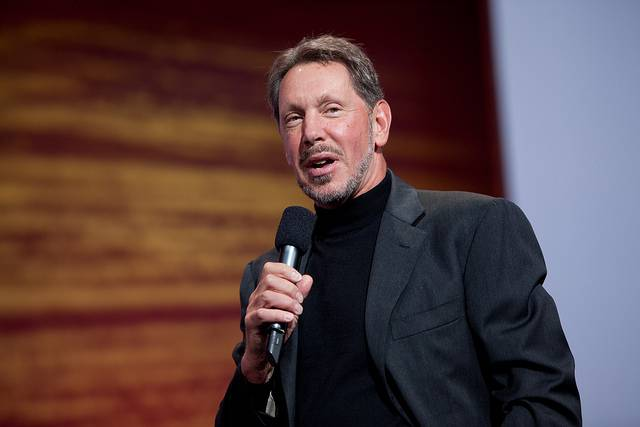 25 Richest Engineers Larry Ellison