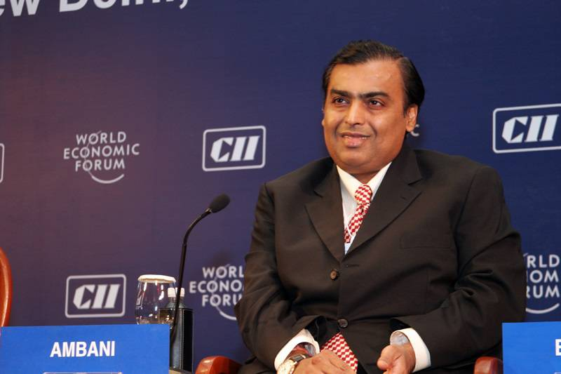 25 Richest Engineers Mukesh Ambani