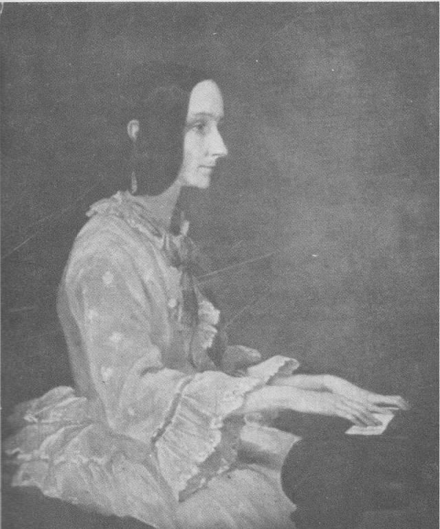 Ada Lovelace kurz vor ihrem Tod