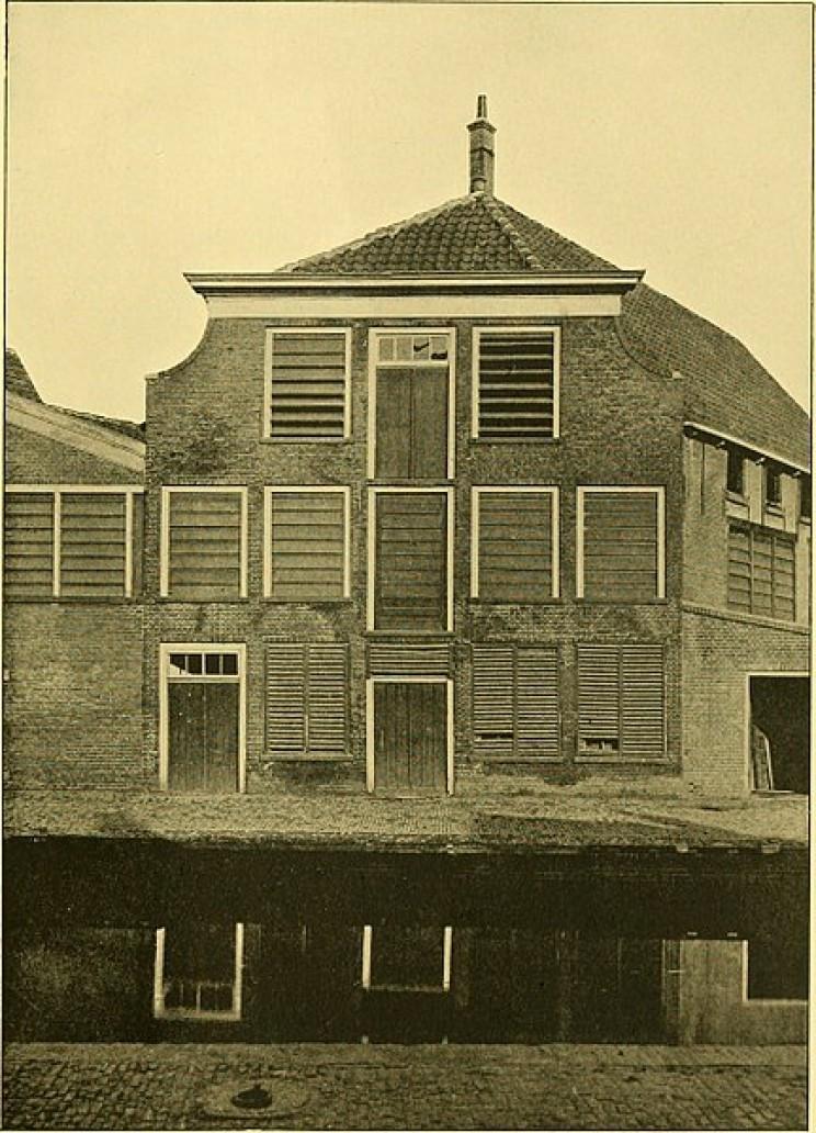 Antonie van Leeuwenhoek birth house