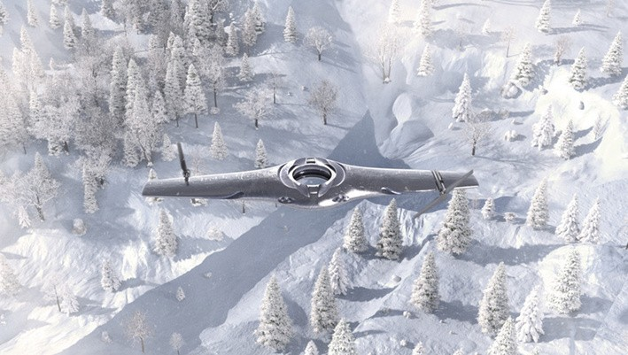 This Unmanned Aircraft Concept Can Switch Between Fixed-Wing and Rotary-Wing Flight Modes