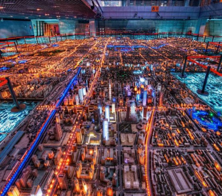 Biggest City Models Beijing