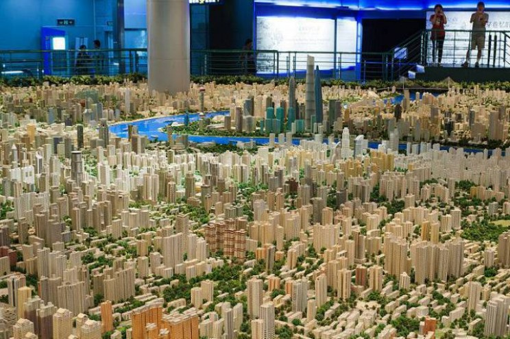 Biggest City Models Shanghai