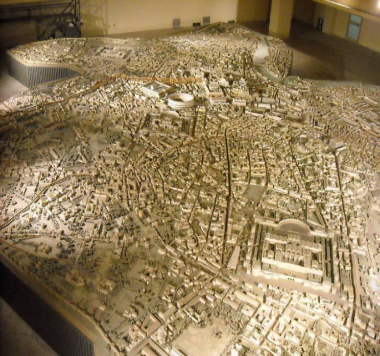 Biggest City Models ancient Rome