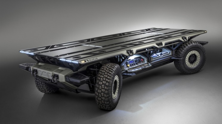 GM Nails it Again with its SURUS Powerful Self-Driving Electric Rover