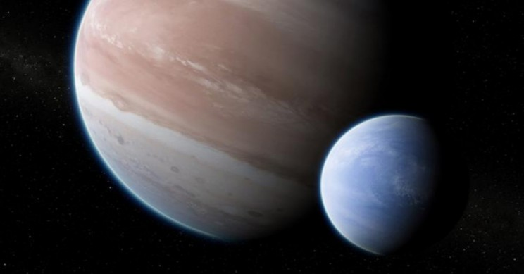 First Ever Spotted Exomoon May be Just Outside Our Solar System