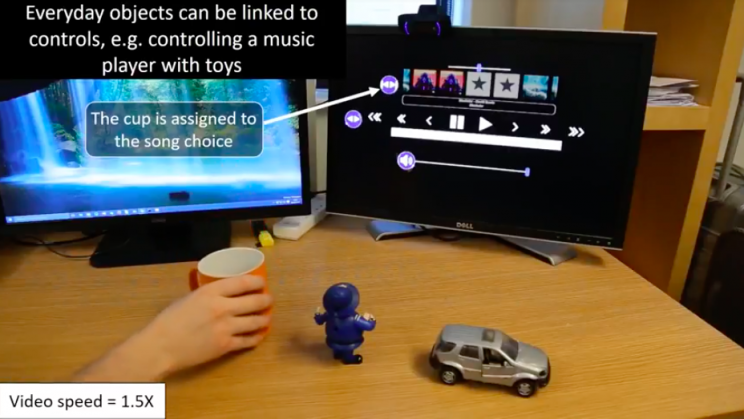 New Gesture Control Technology Turns Any Object Into A Remote Control