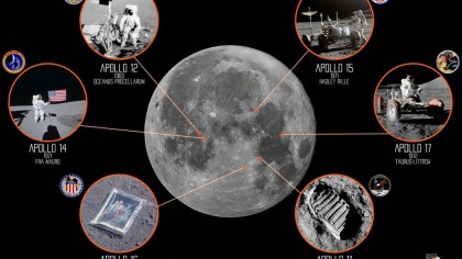 Reddit User Draws a Map of Moon Landings and They Are Closer Than You Think