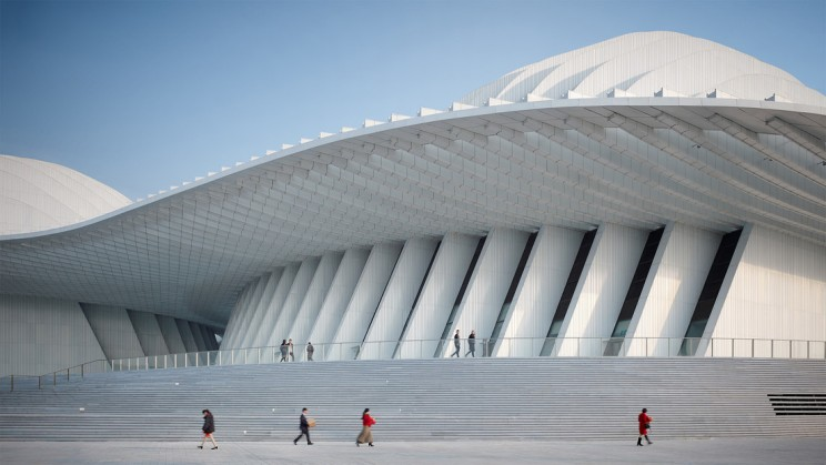 Eastern Aspirations Meets German Design in China's New Guangxi Culture & Art Center