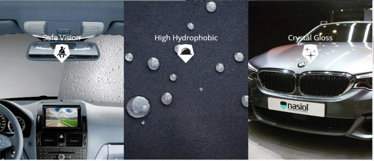 Nasiol coatings applications