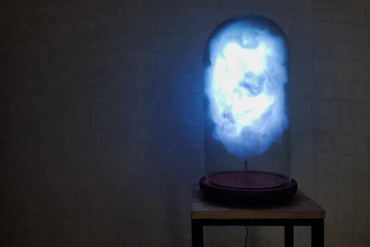This Artist Made a Cloud Lamp Brewing a Literal Storm Every Time Trump Tweets