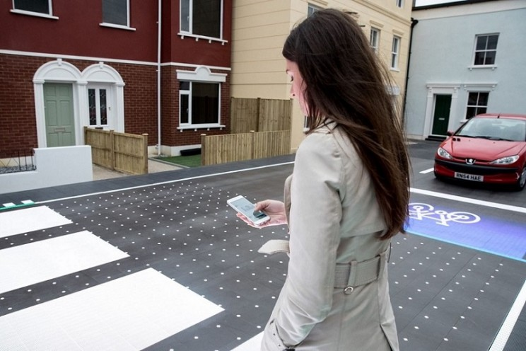 This Smart Crosswalk Only Appears When Needed